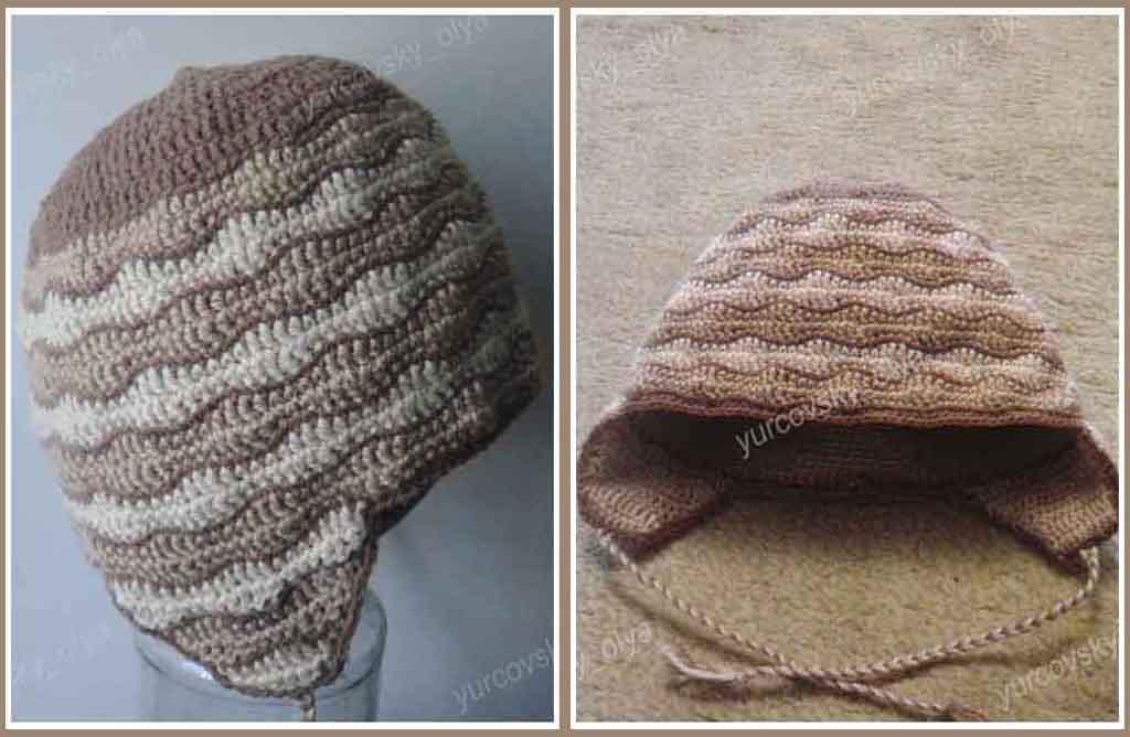 Yurcovsky Olya вязаные зимние весенние осенние шапки шапочки