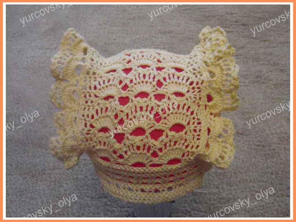 Yurcovsky Olya летние шапочки крючком вяжем вместе шаочки вязание